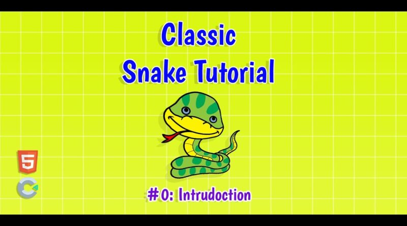 Construct 3: (#0) Introduction of Snake Game Tutorial | HTML5 Game Tutorial