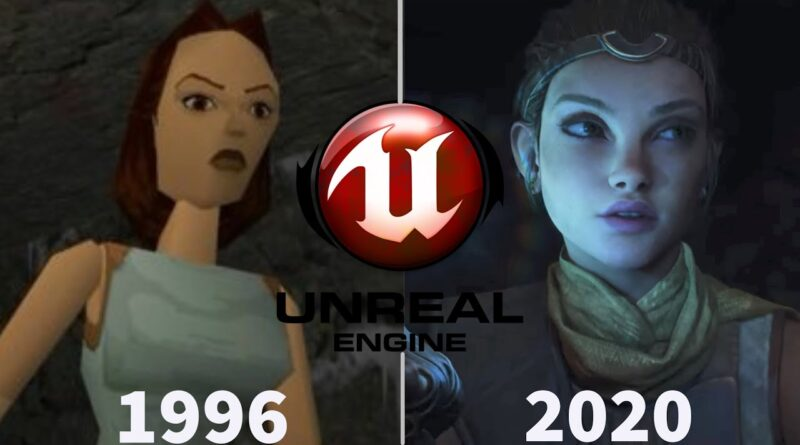 Evolution of Unreal Engine (1996 - 2020)   Unreal Engine 1,2,3,4,5   Features Explained