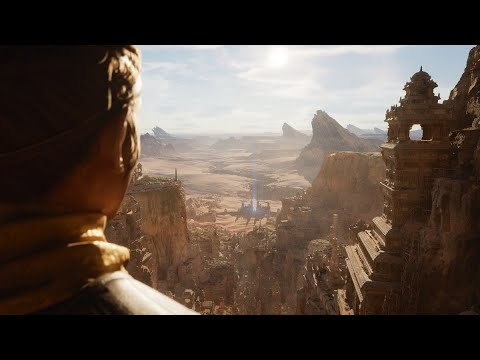 This is next-gen Gameplay Demo running on PlayStation 5 [ Unreal Engine 5 ] 4K