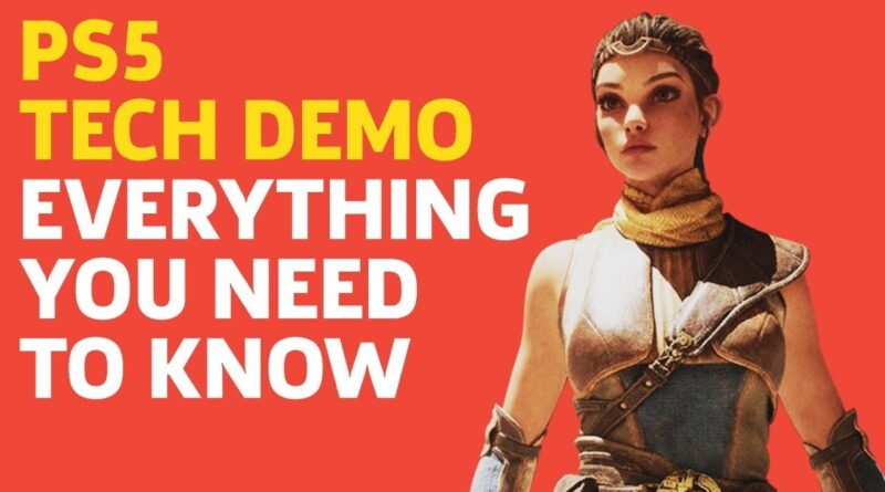 Unreal Engine 5 PS5 Tech Demo - Everything You Need To Know In Under 4 Minutes