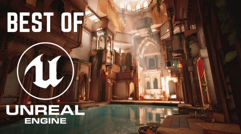 5 MIND BLOWING Scenes Made in Unreal Engine 4