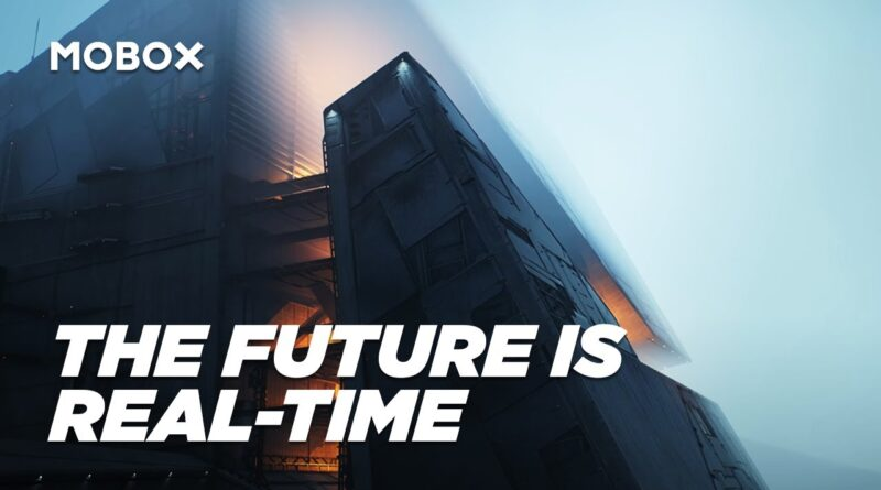 The Future is Real-time   Unreal Engine 5, Blender, & the shifting landscape of motion graphics.