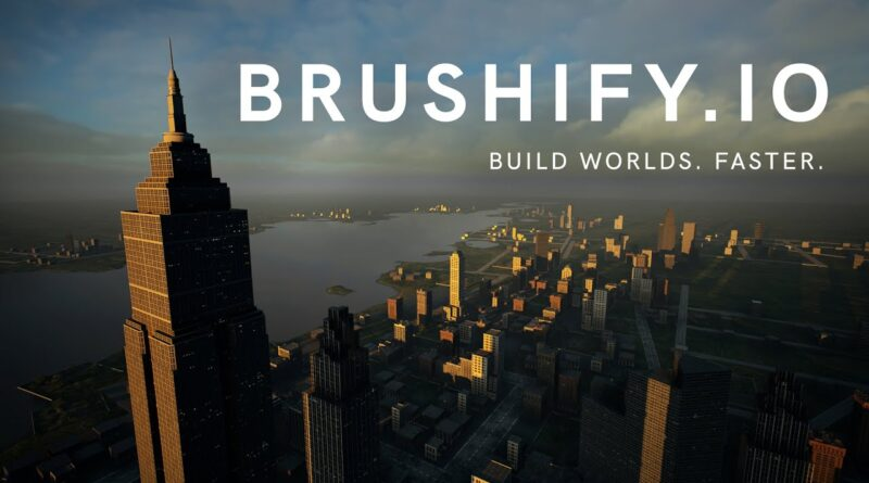 Brushify - Build A City In UE4