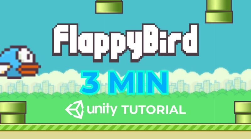 How To Make Flappy Bird In 3 Min (Unity Tutorial)