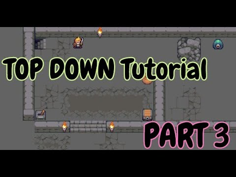 How to Tutorial  - Construct 3 ( TOP Down RPG  Tutorial ) - Part 3