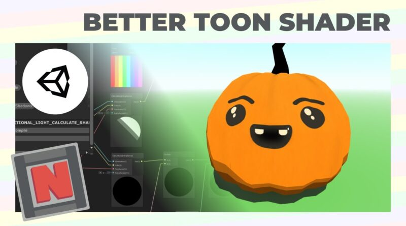 More Shadows and Better Lights in My Toon Shader Graph - Unity URP | Game Dev Tutorial