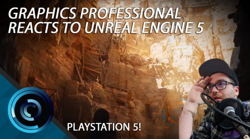 Graphics Professional Reacts to Unreal Engine 5 Playstation 5