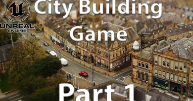 [Unreal Engine 4.24 Tutorial] Building a City-Building Game - Part 1