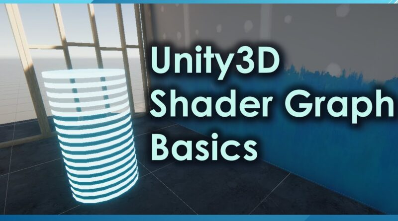 Unity3D Shader Graph Introduction
