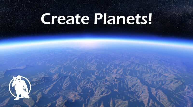 How to Create Planets in Unreal Engine: Ground to Space Transition UE4 Tutorial