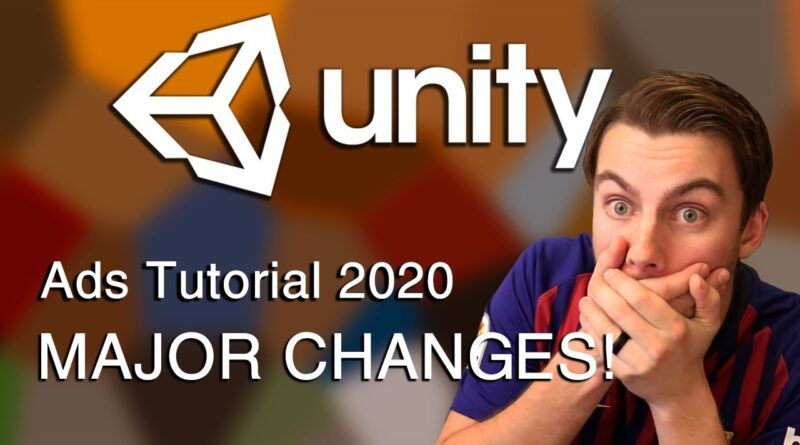 Unity Ads Tutorial 2020 - Unity Ads Services Tutorial