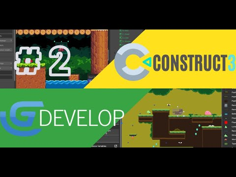 CONSTRUCT 3 vs GDEVELOP 5: Which visual game engine is better? Part II