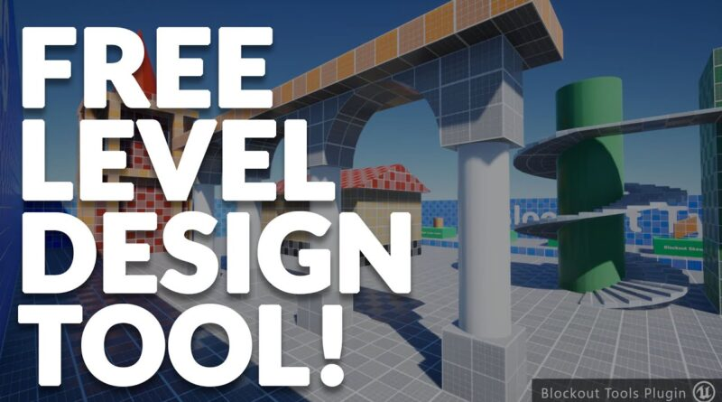 Block-Out Tool For Level Design in Unreal!