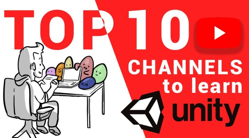TOP 10 YouTube Channels for Learning GameDev with Unity
