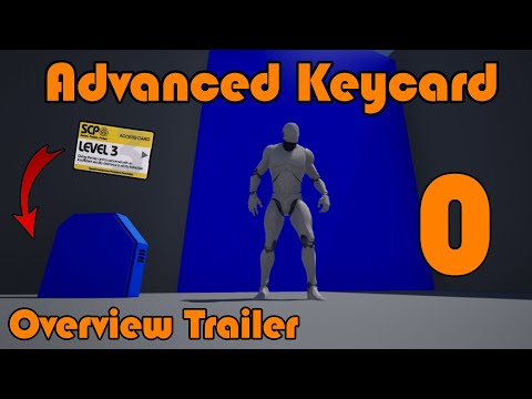 Overview Trailer | Advanced Keycard System In Unreal Engine 4