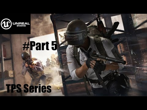 Unreal Engine 5 Dynamic Weapon UI System |Beginner's Tutorial||TPS series|#Part5