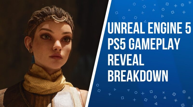 First PlayStation 5 Gameplay on Unreal Engine 5 Reveal Reactions My Thoughts l Summer Game Fest 2020