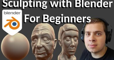 Sculpting with Blender For Beginners (Tutorial)