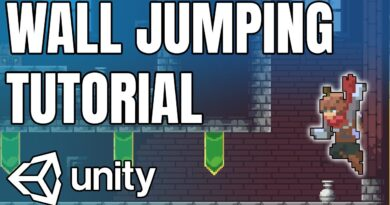 Wall Jumping in Unity Tutorial