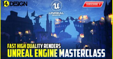 How to Render High Quality Renders in Unreal Engine Quickly