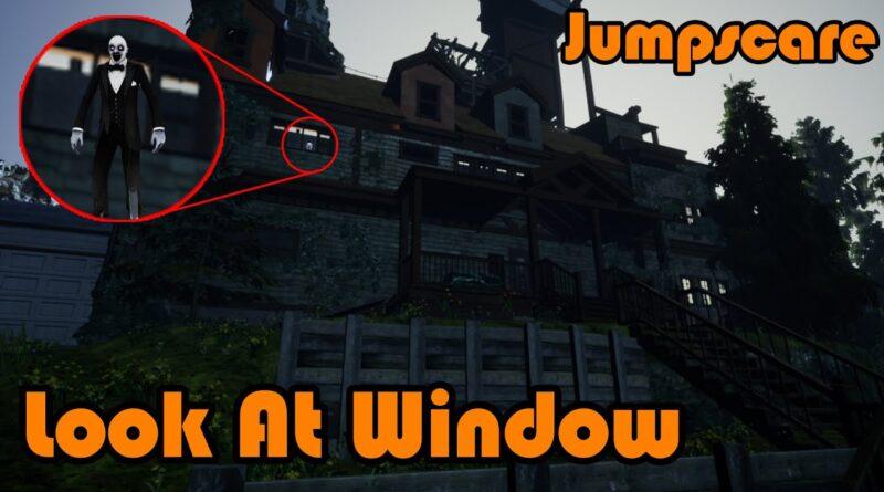Ghost Spawns In Window When Looked At | Jumpscare - Unreal Engine 4 Tutorial