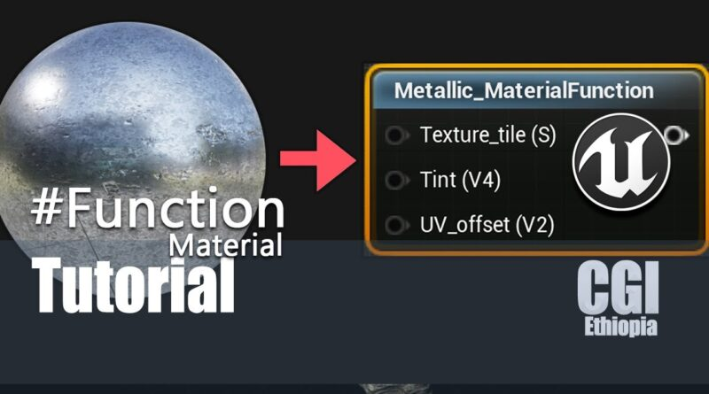 Unreal Engine Material Tutorial How To Create Material Function