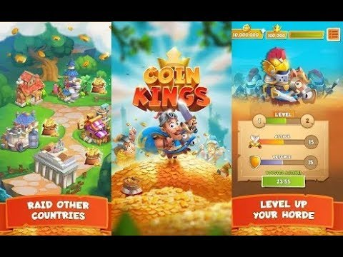 Coin Kings - Gameplay - Android | Casual | Mobile game by Whow Marketing GmbH