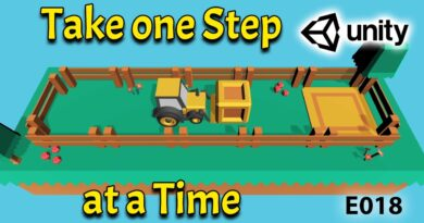 Take one Step at a Time -  E018 GameDev from Beginner to Pro in Unity - 3D Puzzle Game