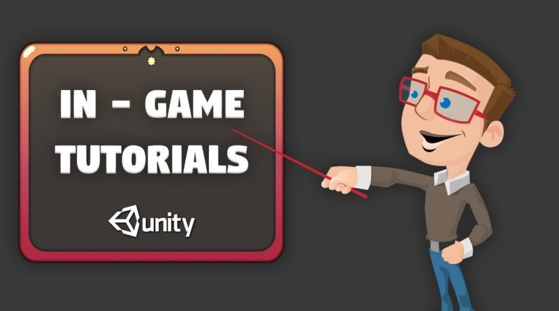 Unity Tutorial on How to make a Tutorial!