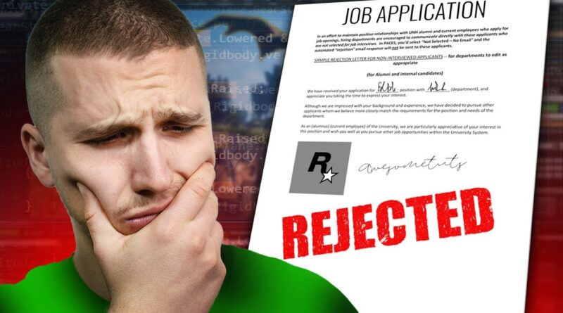 Lessons Learned From 100 FAILED Game Dev Job Interviews