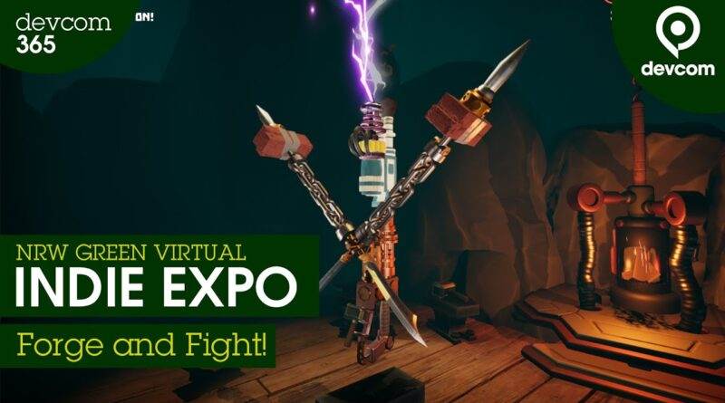 """""""Forge and Fight!"""" - Flamebait Games 