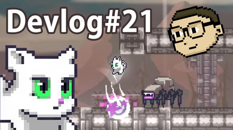 Neat Games Devlog #21 - STEAM Trailer Super Neat Cat - First edit and more!