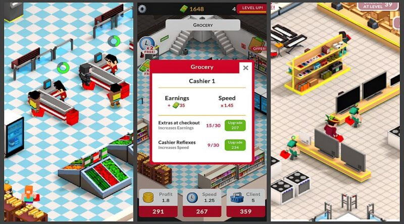 Mall Business: Idle Shopping Game (Early Access) (Gameplay Android)