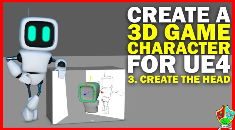 Create a 3D Game Character: Modelling Part 3 - Create the Head