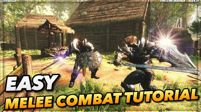 UE4 Melee Combat Tutorial   Quick, Easy System To Setup