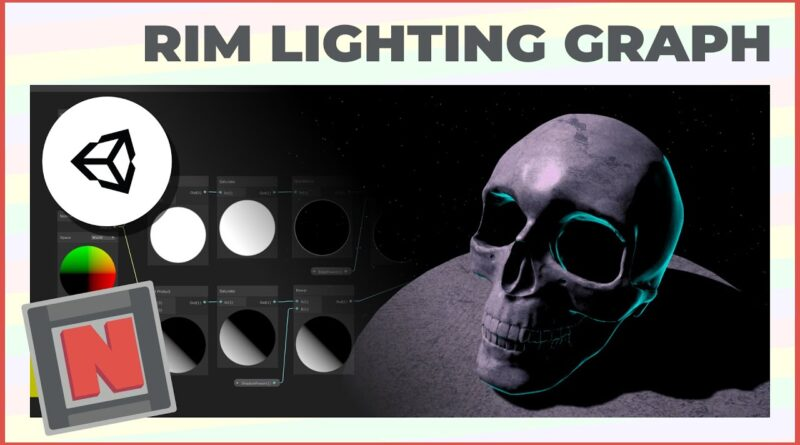 Announce: Rim Light Shader Graph in Unity URP! Moody and Atmospheric Lighting!   Game Dev Tutorial