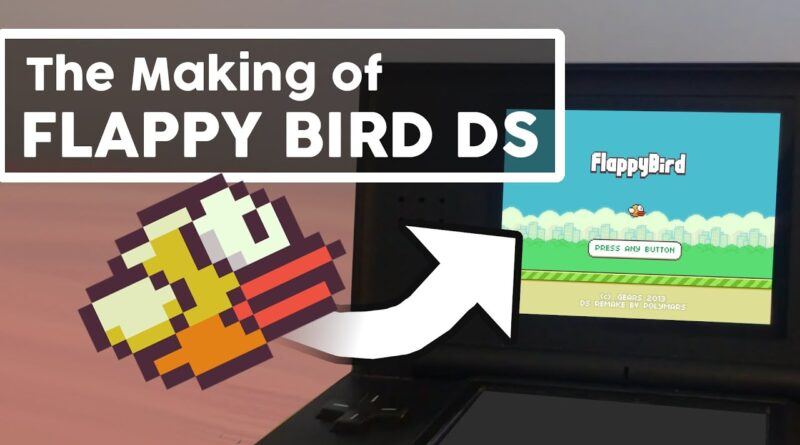 Making a DS Game in 2020 - Flappy Bird DS