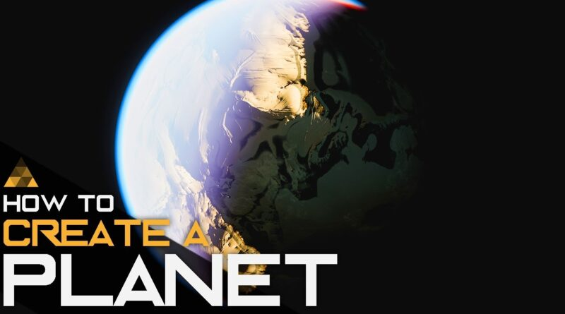 How to Make a Planet in Unreal Engine 4 with World Creator 2