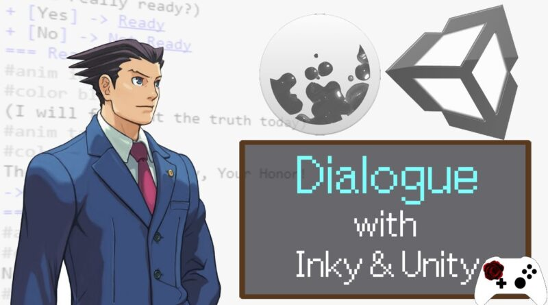 Making Dialogue with Inky and Unity Tutorial