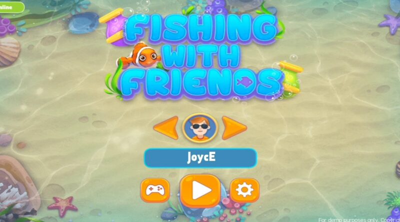 Fishing with friends game created by Construct 2 | Play Game link in Description