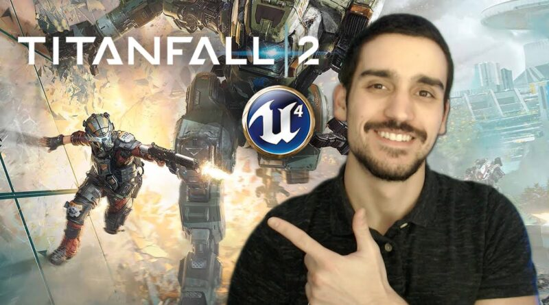 Titanfall 2 Wall Running in 30 MINUTES! Unreal Engine 4 Blueprints Tutorial | Parkour Series #1