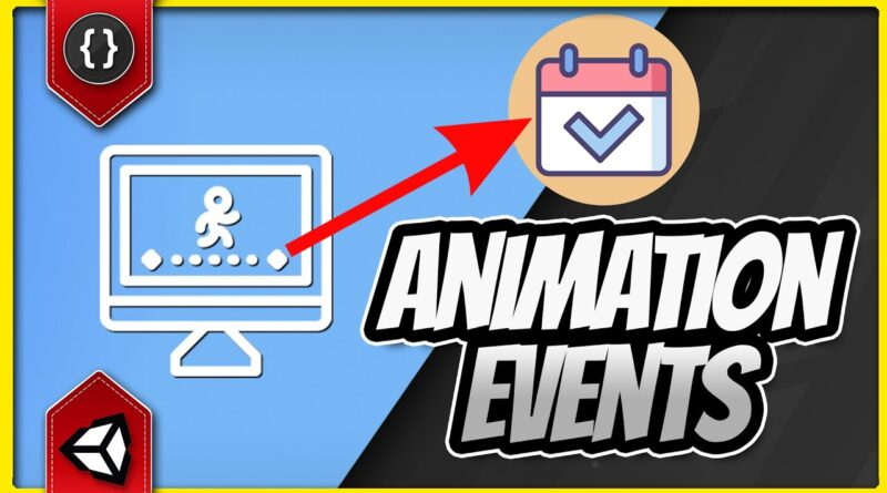 How to Use Animation Events [Unity Tutorial]