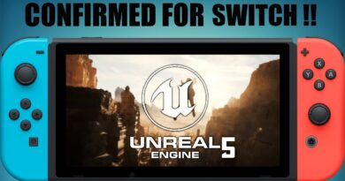 Unreal Engine 5 Support OFFICIALLY CONFIRMED For Nintendo Switch