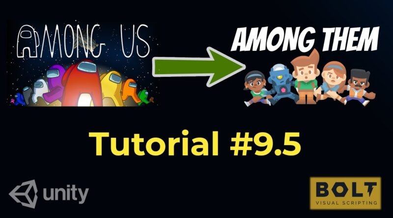 Unity-Bolt: Making Among Us - Beginner Tutorial Part 9.5 - Network with Pun RPC (Visual Scripting)