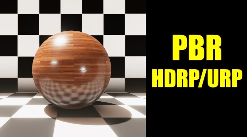 PBR Shader for Unity HDRP and URP