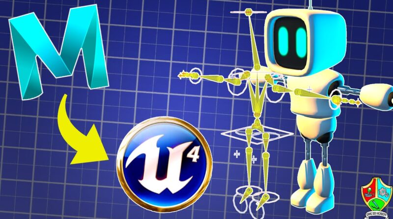 How to Make A 3D CHARACTER for Your Game (Maya to UE4) Chapter 3: Rigging the Character