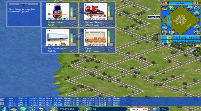 Capitalism Lab - Business Economic CEO Simulator Game - The Private Labeling Playthrus #1