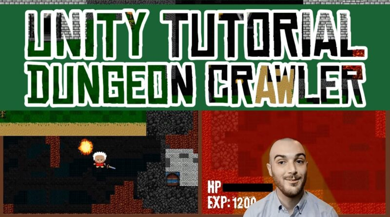 Unity Dungeon Crawler Tutorial 2D Game - Code and Assets Included