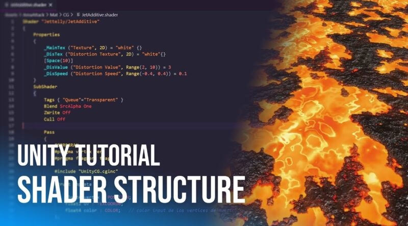 Shader structure | Unity Tutorial