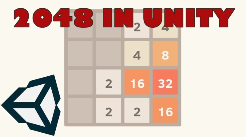 How to Make 2048 in Unity Tutorial Series - Project Setup (Lesson 1)
